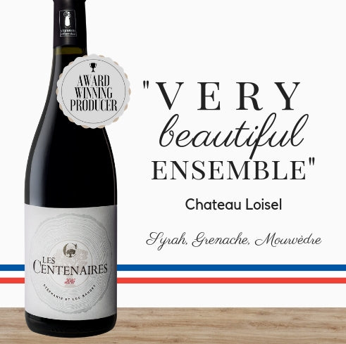Clos de Centenaires Les Centenaires (Syrah, Grenache, Mourvèdre) from Pop Up Wine, Singapore's favourite wine company. Same day delivery, free for 2 dozen. Buy cheap wines now for delivery today.
