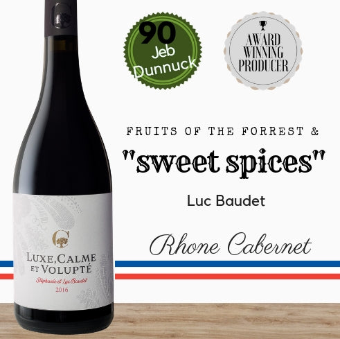 Luxe, Calme et Volupté from Pop Up Wine Singapore. Same day delivery, free for 2 dozen. Buy online now.