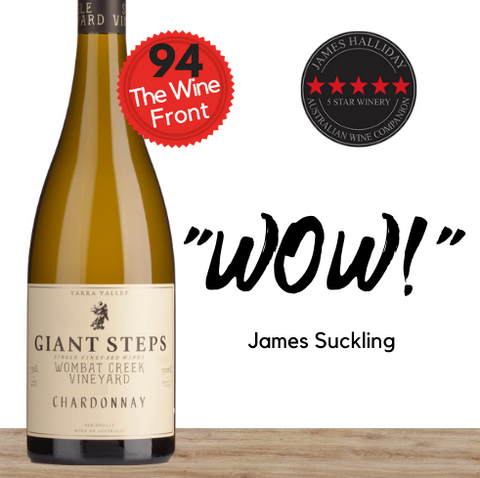 Multi-award winner Giant Steps Wombat Creek Chardonnay 2019. Buy online from Pop Up Wine. Singapore's low price store.