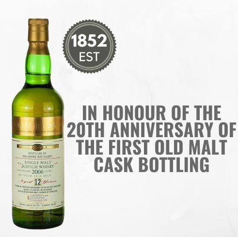 DAILUAINE SHERRY CASK 20th ANNIVERSARY EDITION AGED 12YEARS ~ SPEYSIDE, SCOTLAND