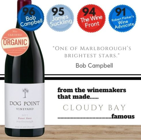 Dog Point Pinot Noir 2017 ~ Marlborough, New Zealand