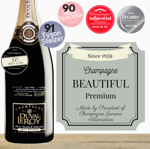 A premium, high quality champagne made by the President of the Champagne Makers Association. Beautiful quality, impressive! Pop Up Wine ~Singapore's low price store~ same day delivery!