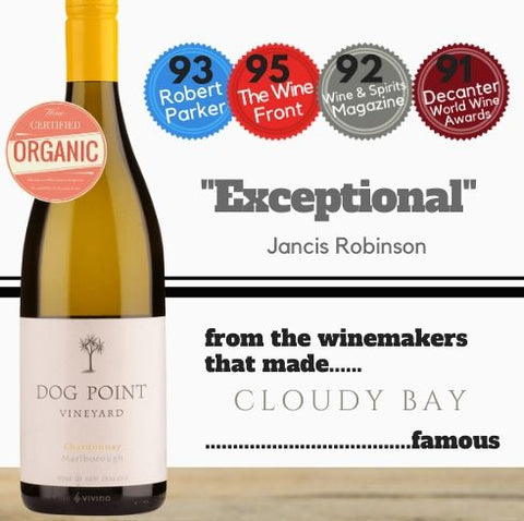 Dog Point Chardonnay 2015 ~ Marlborough, New Zealand
