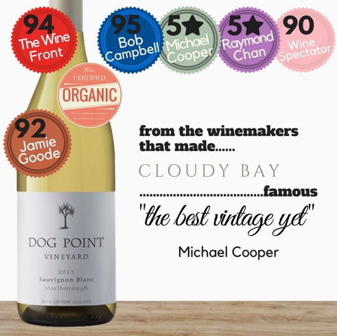 Dog Point New Zealand 2016  Sauvignon Blanc white wine.  Best wines low price  available for same day delivery from Pop Up Wine in Singapore.