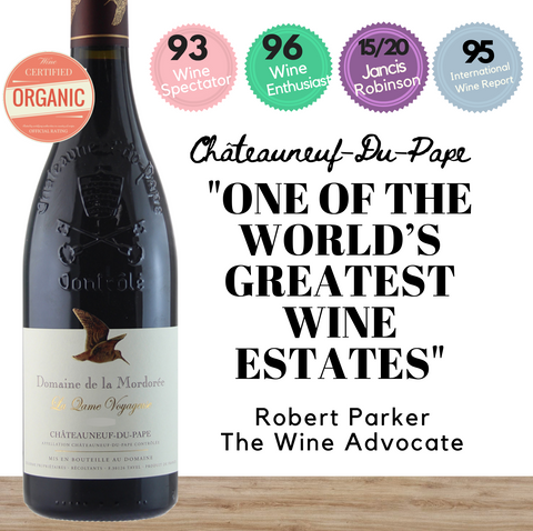 Highly rated premium Chateauneuf-du-Pape mostly blended with Grenache. Available online from Pop Up Wine, Singapores favourite online wine retailer. Same day contactless delivery & free for over 2 dozen bottles.