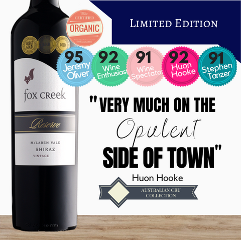 Fox Creek Reserve Shiraz 2004 McLaren Vale South Australia