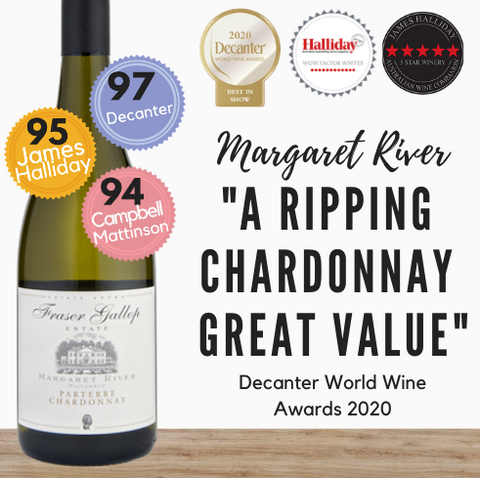 Australian Chardonnay by Fraser Gallop. Award winning premium white wine. Order online, get discount from Pop Up Wine Singapore. Fast 24 hour delivery