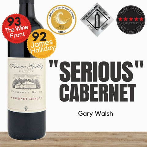 "Fraser Gallop ""Estate"" Cabernet Merlot 2014. Australian premium red wine. Singapore wine shop Pop Up Wine.  Free Delivery for 2 doz. Same day delivery."