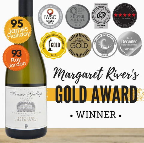 Gold Margaret River Award Winner - Fraser Gallop Parterre Chardonnay 2014