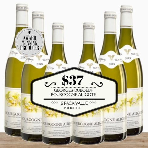Georges Duboeuf Bourgogne Aligote 2018 - 6 Pack Value