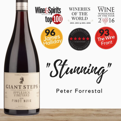 Giant Steps Pinot Noir. Australian fine red wine. Available at best price only from Pop Up Wine in Singapore. Same day delivery.