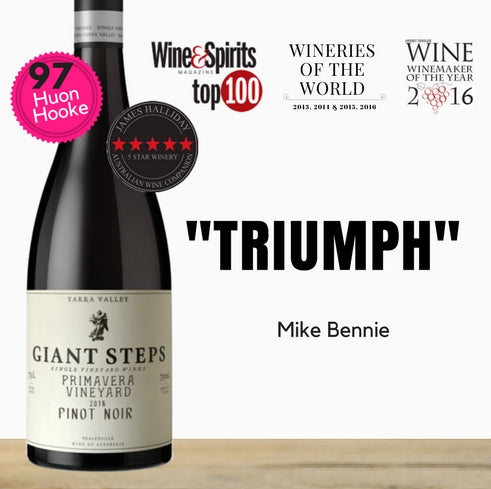 Giant Steps Premium Australian Pinot Noir. Quality red wine at discounted price only from Pop Up Wine Singapore. Fast same day delivery.