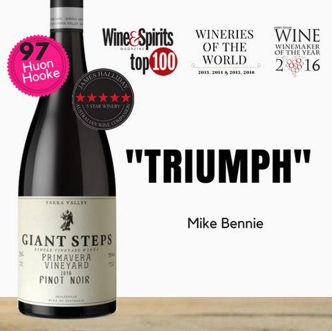 "Giant Steps ""Primavera Vineyard"" Pinot Noir 2016 ~ Yarra Valley, Australia"