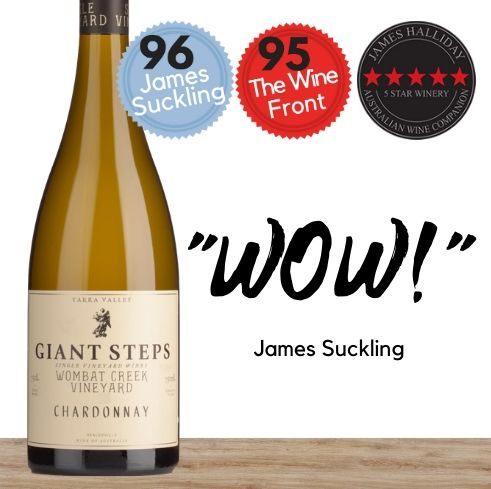 Multi-award winner Giant Steps Wombat Creek Chardonnay 2018.  Buy online from Pop Up Wine. Singapore's low price store.