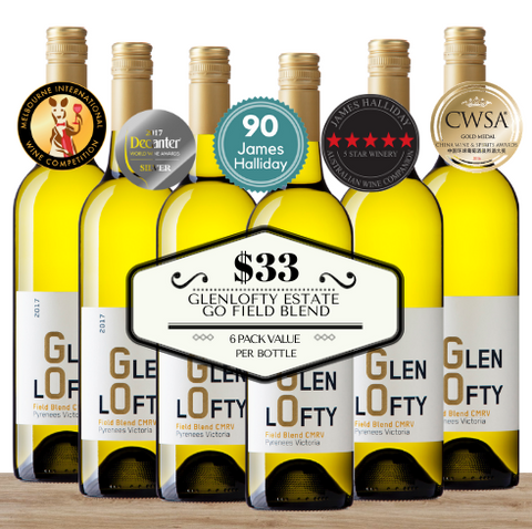 Glenlofty Estate GO Field Blend 2017 - 6 Pack Value