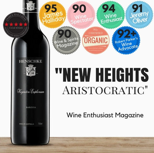 Award winning Barossa Valley Shiraz by Henschke. Excellent vintage. Pop Up Wine Singapore. Same day delivery, free for 2 dozen. Discounted premium wine in Singapore.