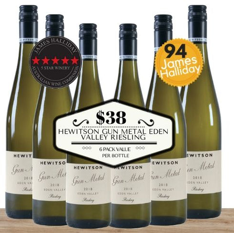 Buy this 6 pack of Hewitson Gun Metal Eden Valley Riesling from Pop Up Wine, Singapore's favourite online wine store. Buy in bulk and save. Perfect box of champagne for events, parties, weddings, and gifts. Same-day wine and champagne delivery today to your door.