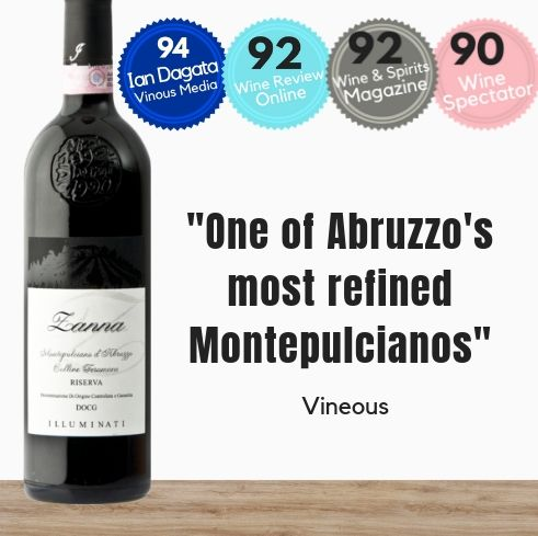 A fine red wine from Abruzzo Italy. Buy now online in Singapore from Pop Up Wine
