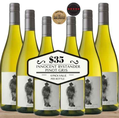 Innocent Bystander Pinot Gris 2019 - 6 Pack value