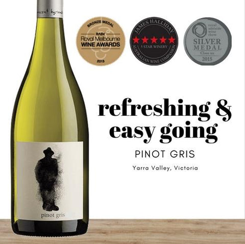 2017 Australian Pinot Gris white wine by Innocent Bystander. Great value wines from Pop Up Wine online store in Singapore. 24 hour fast delivery.
