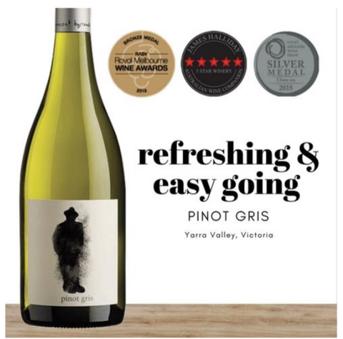 2019 Australian Pinot Gris white wine by Innocent Bystander. Great value wines from Pop Up Wine online store in Singapore. 24 hour fast delivery.