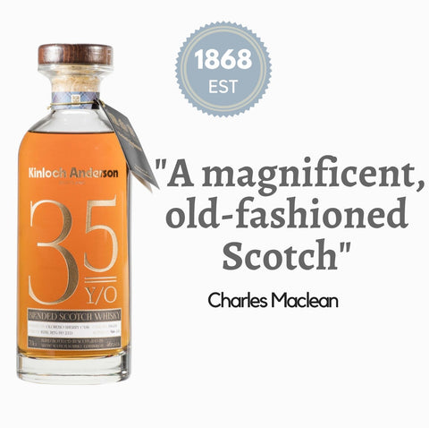 Kinloch Anderson Whisky from Scotland