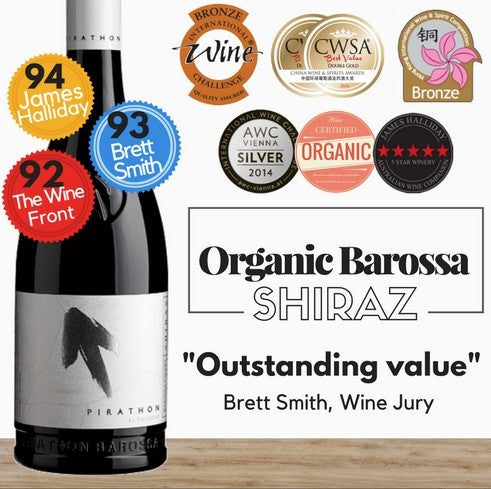 Kalleske Pirathon Shiraz (Organic) 2013 - Barossa Valley, South Australia