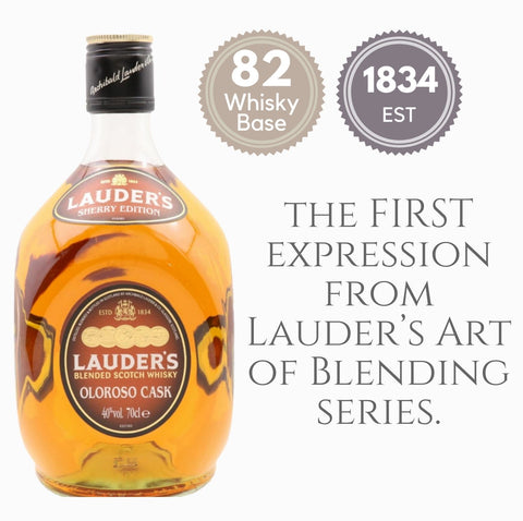 LAUDER'S SHERRY EDITION ~ SCOTLAND