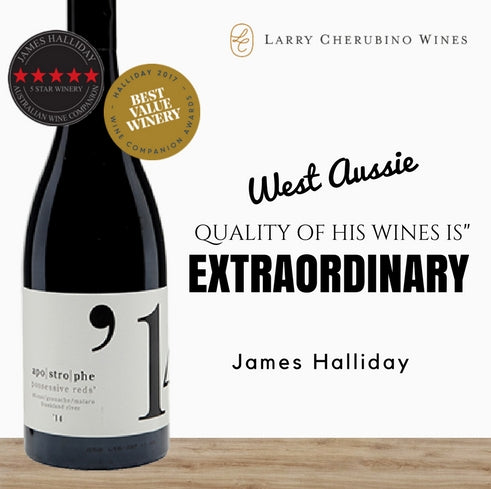 Australia's Premium Shiraz red wine by Larry Cherubino 2016. Best buys only from Pop Up Wine in Singapore. Fast 24 hour delivery.