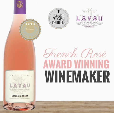 2016 French Rose from an award winning winery Lavau. Available from Pop Up Wine Singapore. Same day delivery. Best value Premium wine online.