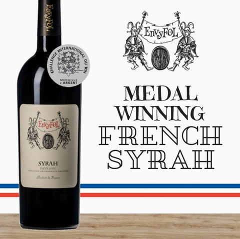 2014 French Shiraz. Lavau Envyfol medal winning red wine. Discount available online from Pop Up Wine in Singapore. Get it delivered today.