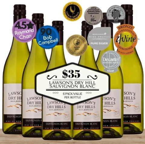 Buy this Lawson's Dry Hills Sauvignon Blanc 2020 from Marlborough in New Zealand. 6 pack value white wine box. Only from Pop Up Wine, Singapore's favourite online wine store. Contactless delivery available and same-day delivery. Free delivery for your selection of any 24 wines. Singapore's best bulk wine by the box and carton. Perfect way to buy wine for your event. Low priced wine and free delivery if you buy 24 or more wines today.