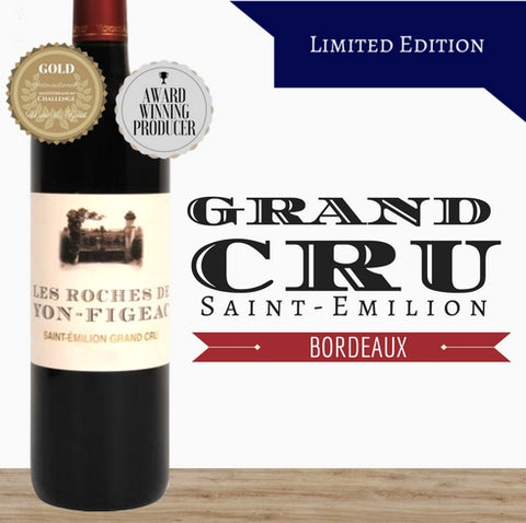 2012 French Bordeaux. Limited Edition red wine by Chateau Roches. Great value wines online from Pop Up Wine in Singapore.Fast delivery guaranteed.