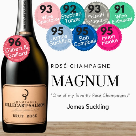 Billecart Salmon Brut Rose Champagne Magnum