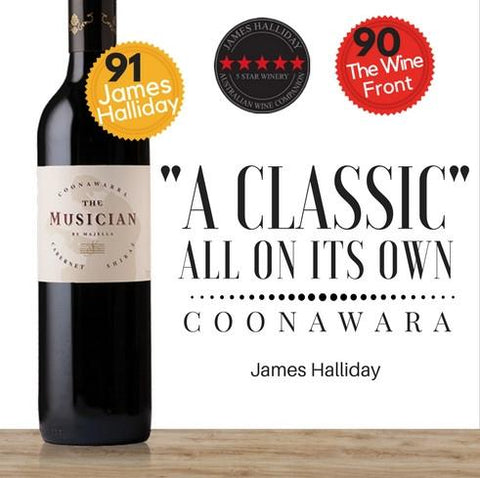 Fantastic value premium wine in Singapore. Majella South Australian Cabernet Shiraz available same day delivery in Singapore, free for 2 dozen at Pop Up Wine