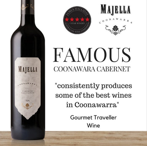 Award winning Australian Cabernet Sauvignon & rated 5 Star Winery by James Halliday from Pop Up Wine Singapore available for same day delivery, free for 2 dozen.