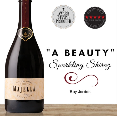 Glorious Sparking Shiraz from Coonawarra. Premium Australian wine in Singapore. Available online  from Pop Up Wine. Great value wine store. Same day delivery, free for 2 dozen.