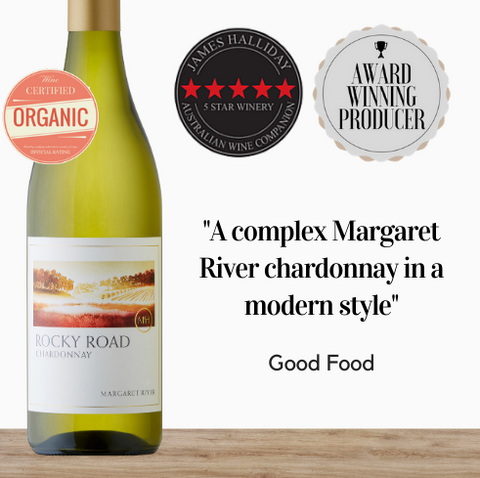 A highly regarded white wine from the Margaret River region. This award winning Chardonnay is a crowd pleaser. From organic winery Mchenry Hohnen. Free delivery available from Pop Up Wine, Singapore. Same day delivery available.