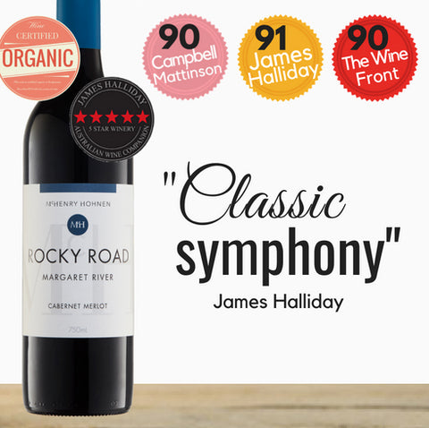 A premium Cabernet Merlot. Red Wine by Mchenry Hohnen. Highly rated organic winery. Buy online today from Singapore's favourite online wine store, Pop Up Wine. Free delivery for 2 dozen bottles. Same day delivery available.