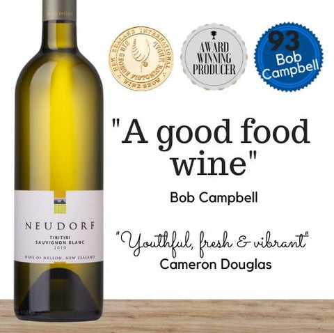 Highly rated premium Sauvignon Blanc 2019 from Neudorf, Nelson, New Zealand.  Buy online from Singapore's favourite wine store, Pop Up Wine. Same day and free delivery available. We ofer contactless delivery & free delivery for any 24 bottles.Buy this and get this award winning white wine delivered today. We deliver wine 7 days a week, even on Sundays.
