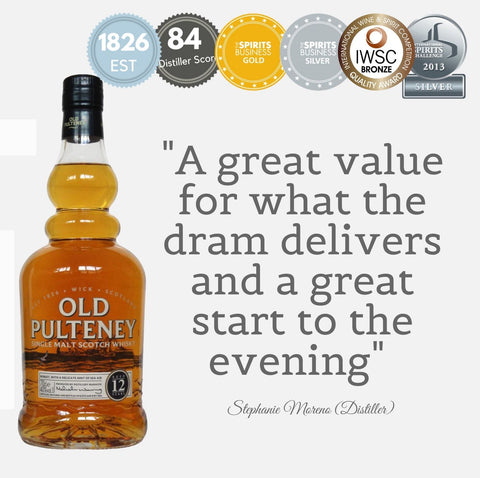 OLD PULTENEY AGED 12 YEARS ~ HIGHLAND, SCOTLAND