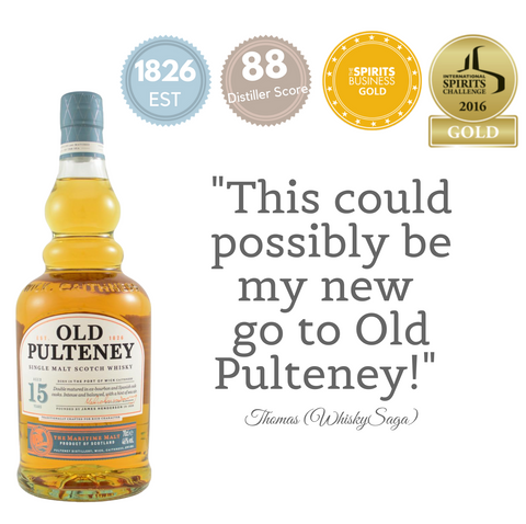 OLD PULTENEY AGED 15 YEARS ~ HIGHLAND, SCOTLAND