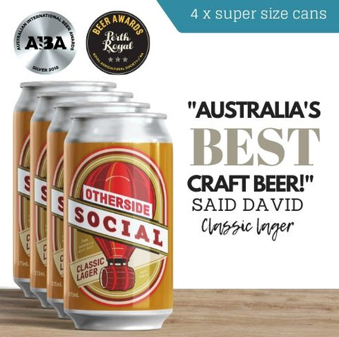 Sale on this award winning Australian craft beer. Buy today online. Delivered same day. Free delivery available.