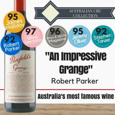 "Penfolds Grange ""Bin 95"" 1995 ~ South Australia"