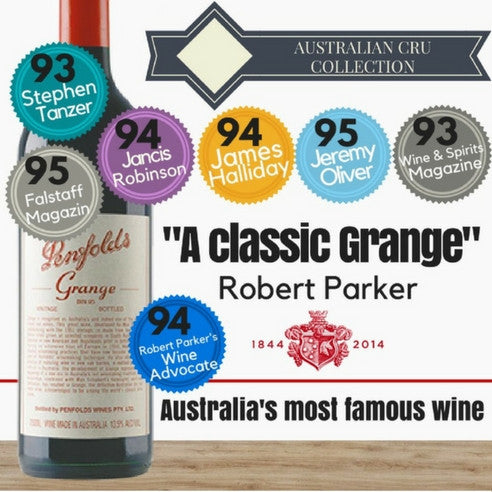 1997 Penfolds Grange Shiraz. Australia's Top Red Wine. Low price available online from Pop Up Wine Singapore. Fast delivery today.