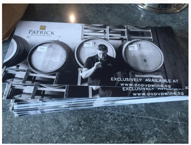 Patrick of Coonawarra Brochures - Events