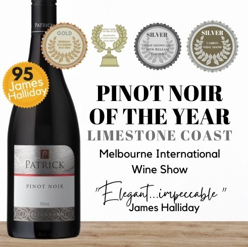 Pinot of the Year! A multi-awarded pinot noir from a famous wine estate in Australia's famous new pinot growing region of Coonawarra. Buy this red wine online today from Singapore's favourite wine store, Pop Up Wine. Same day wine delivery and free wine delivery available everyday. Buy today from our trusted wine store and get this award-winning Australian pinot noir delivered today in Singapore. We deliver wine 7 days a week, even on Sunday, public holidays and Saturday.