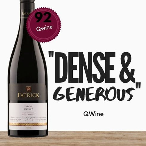 One of Australia's leading wine Patrick Estate Joanna Shiraz 2013 by Patrick Tocaciu of Coonawarra South Australia. Buy wine online Singapore's low price store Pop Up Wine. Free delivery for 2 dozen.