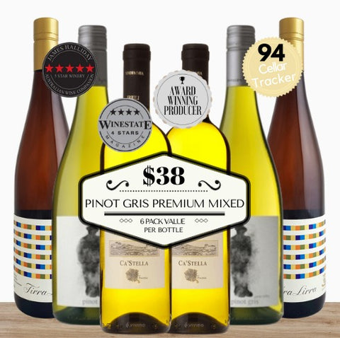 Excellent Pinot Gris White Wine 6 Pack. Pop Up Wine, Singapore's best online retailer of great value premium wines. We deliver contactless same day fast. Free delivery for 2 dozens of wines or more.