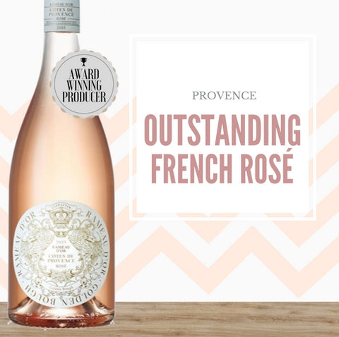 "Rameau d'Or ""Golden Bough"" Provence Rosé 2017 ~ Provence, France"